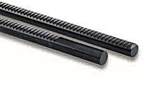 Crémaillère ronde acier C45 modèle SRO