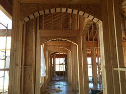 build | home | framing | arch
