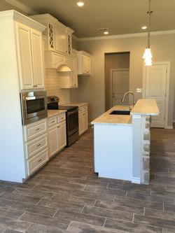custom home | kitchen | marble