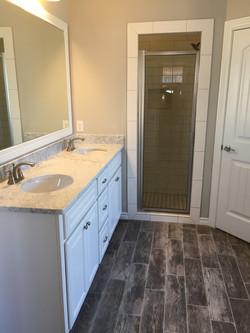custom home | bathroom | marble