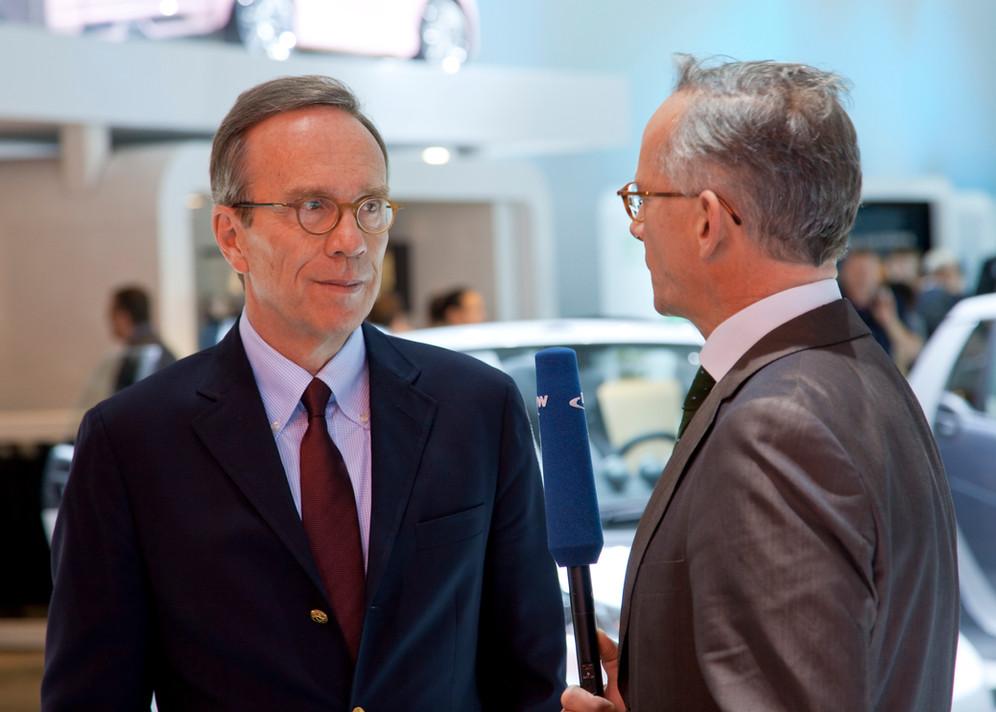 Matthias Wissmann Präsident, Verband der Automobilindustrie