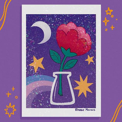Flor da lua crescente