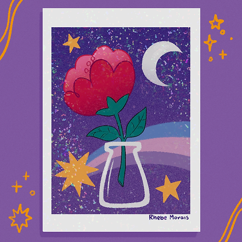 Flor da lua minguante
