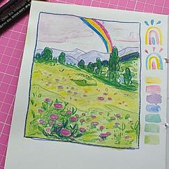 esboço landscape