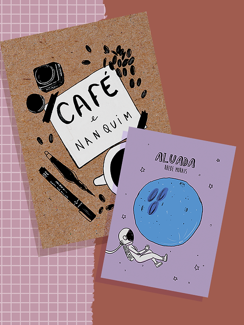 Combo: Aluada + Café e nanquim