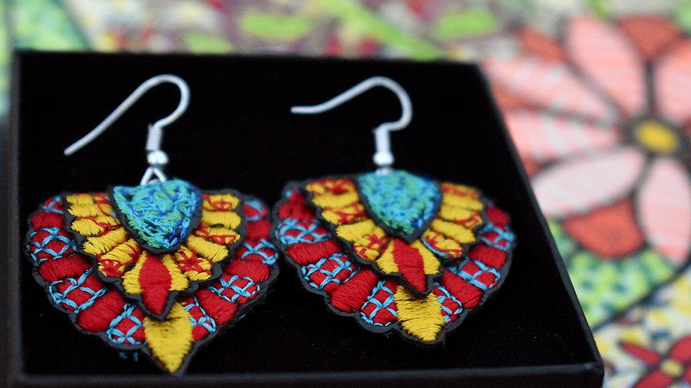 Layered Batu Earrings
