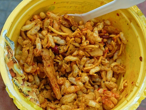Learnings from eating Bhel