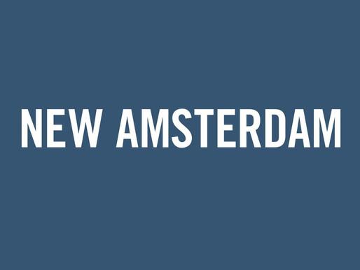 Poem inspired by New Amsterdam