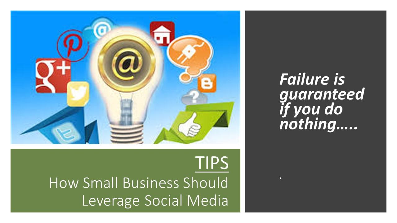 Start Social Media Today