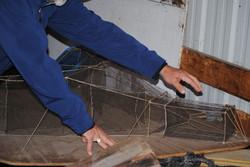 VSI fishing net method