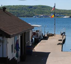 VSI Fish Market dock