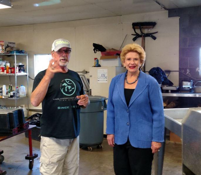 Senator Stabenow visits VSI