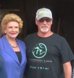 Senator Stabenow & VSI Owner, Dennis