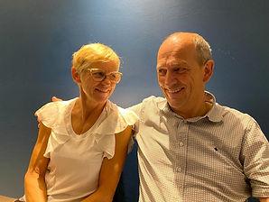 Hilde Carpels en Eddy Ternier