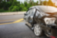 car crash accident on the road, auto acc