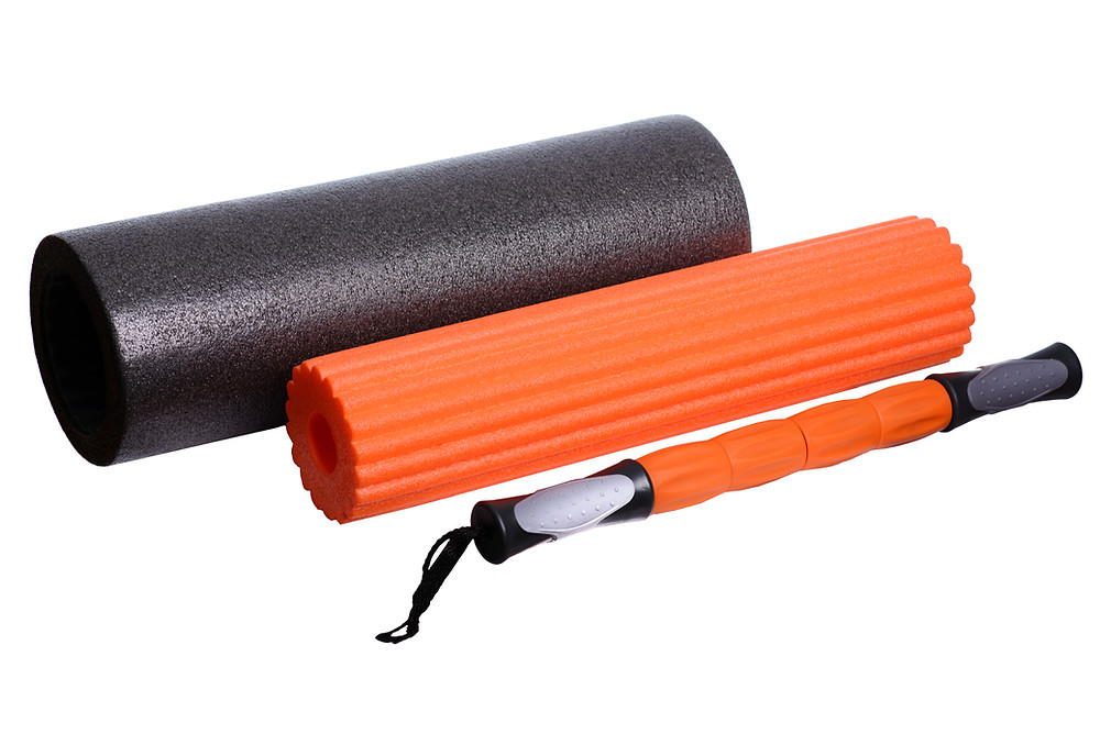 Foam Roll and Self Myofascial Release Tools