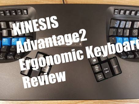 Kinesis Advantage2 Ergonomic Keyboard Review