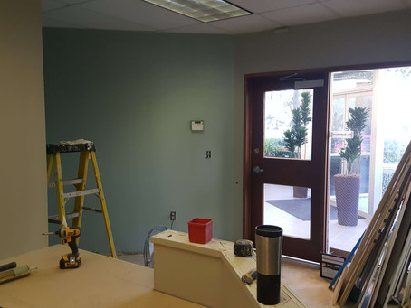 Updates on Our New Office Build-out