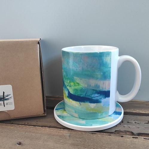 Abscapes ' One Year On' Mug & Coaster