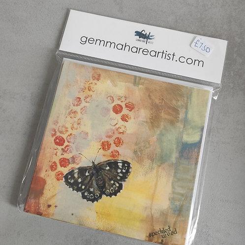 Butterfly notelets
