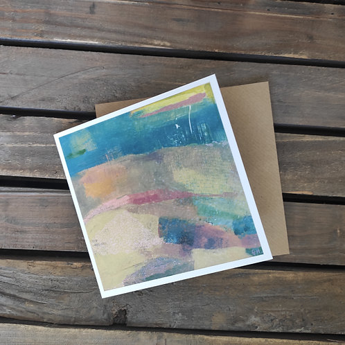 Abscapes '  On Reflection  ' Greetings Card