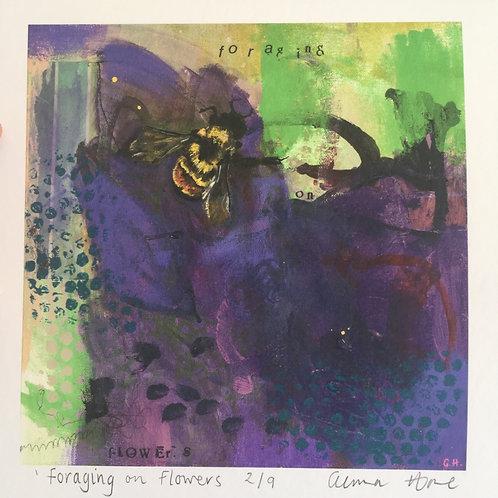 'Foraging' Giclée print