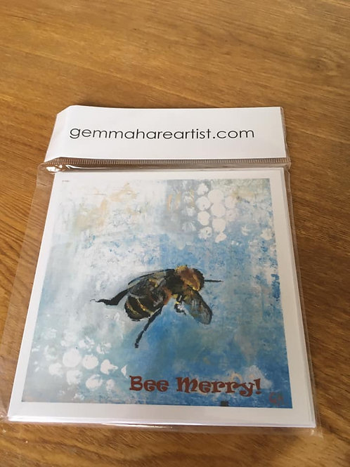 'Bee Merry' Cards