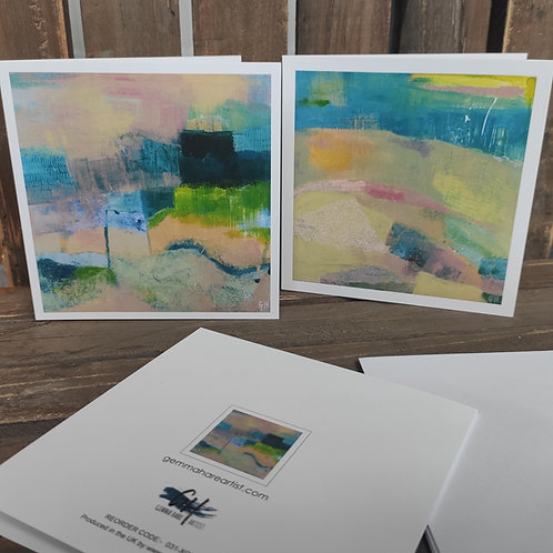 'Abscapes' Notecards