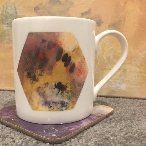 China Hexagon mug