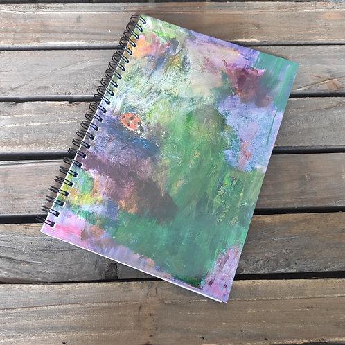 Wee Beasties A5 Ladybird Notebook