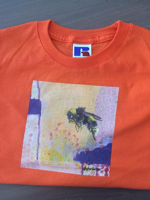 Children's Bee Tee (orange)