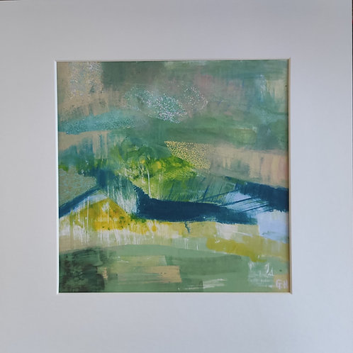 'Abscapes' One Year On Giclee Print
