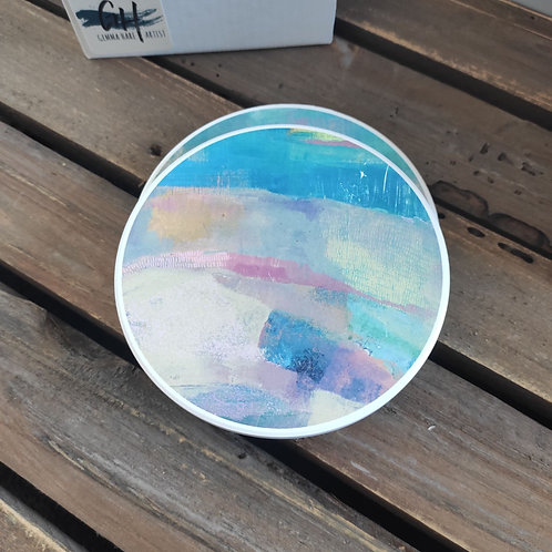 Abscapes 'On Reflection' Ceramic Coasters