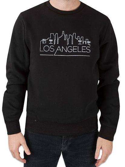 Embossed Heavyweight Crewneck Sweatshirt