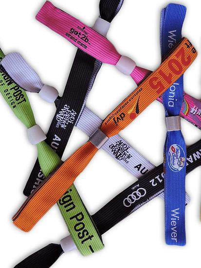 HD Woven Wristbands