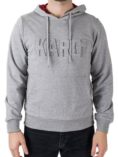 Embossed Mid-Weight Hoodie