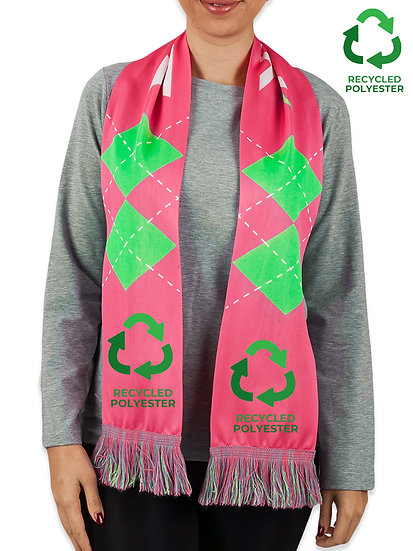 RECYCLED Sublimated Scarves