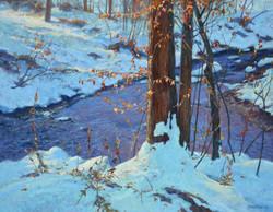 """October Winter Brook"""