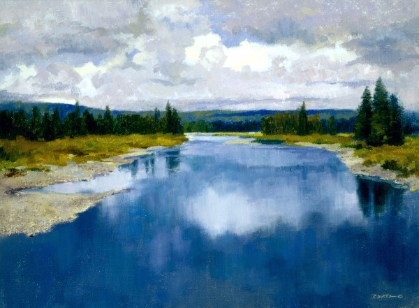 """Wyoming Reflections"""