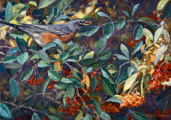"""Robin' the Berries"""