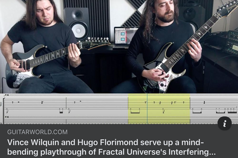 'Interfering Spherical Scenes' Playthrough Premiered by Guitar World