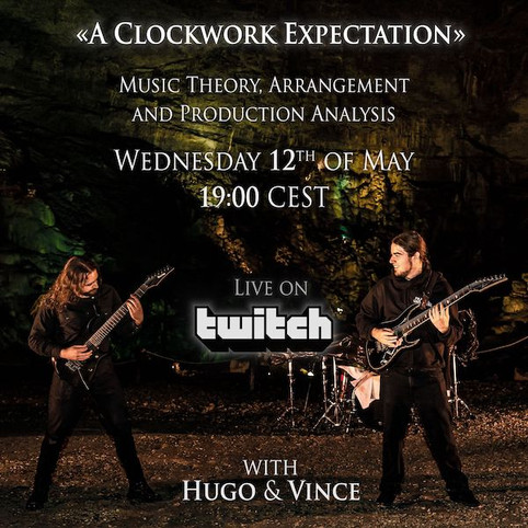 "A Clockwork Expectation"" (Drum Challenge) & Song Analysis w/ Hugo and Vince"