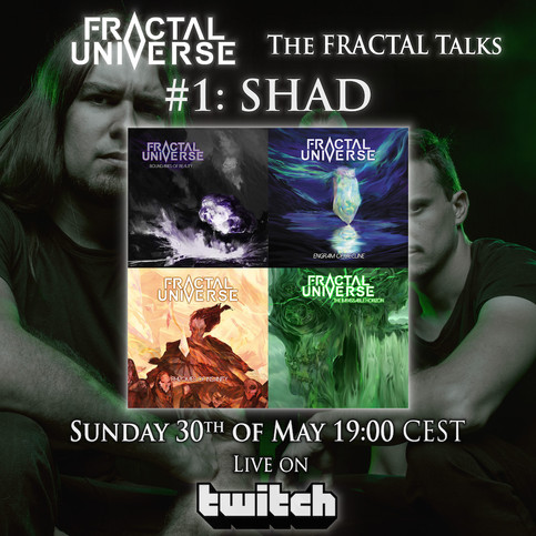 This Week On Twitch: The Fractal Talks #1 w/ Shad & 'Symmetrical Masquerade' Guitar Lesson