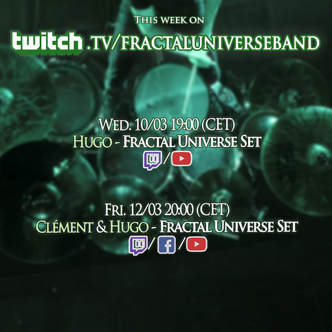 This week on Twitch!