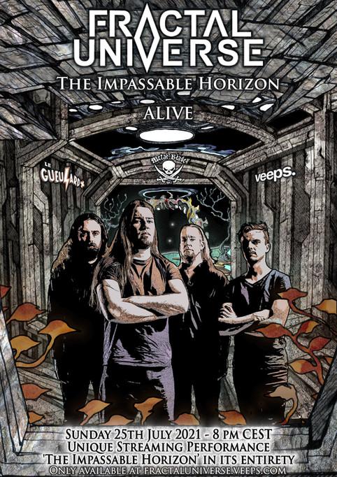 'The Impassable Horizon- Alive' - Global Streaming Event