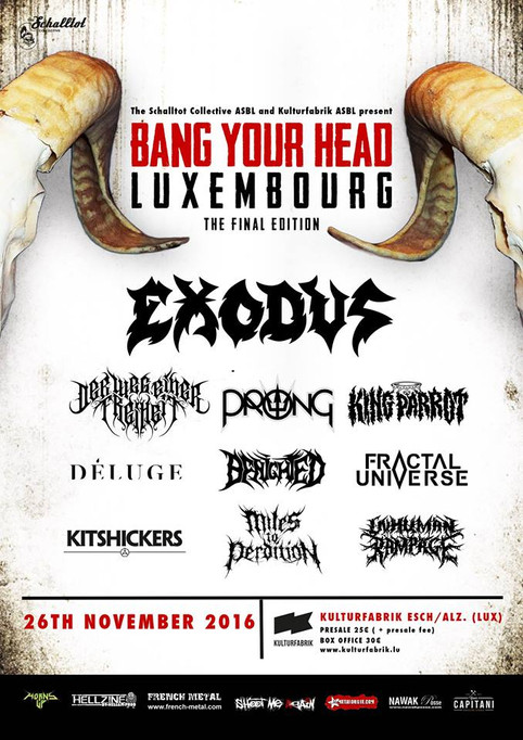 NOVEMBER 26th: BANG YOUR HEAD FESTIVAL