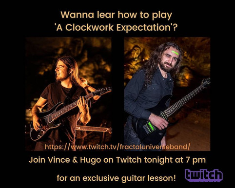 A Clockwork Expectation' Guitar Riff Challenge