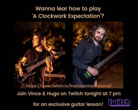 A Clockwork Expectation' Guitar Riff Challenge
