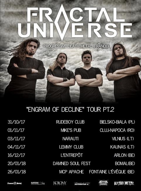 """ENGRAM OF DECLINE"" TOUR PT.2"