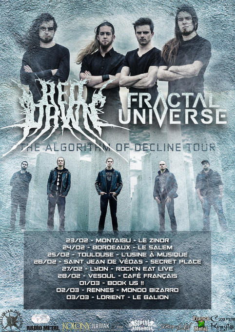 Fractal Universe announce French Tour in February/March